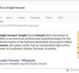 rank 0 example for Who is Dwight Howard