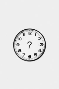 clock with question mark for how long to keep a redirect