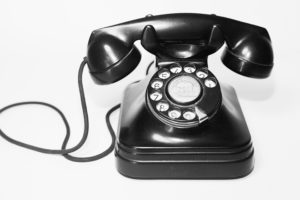 Phone calls are typically a thing of the past as emailing takes over.