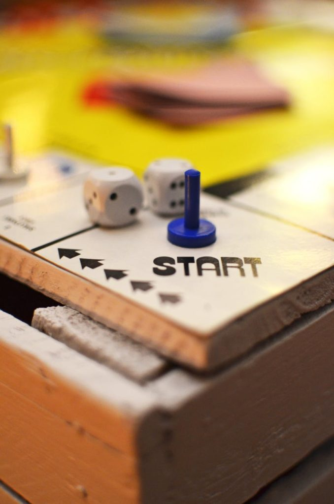 Start Positon of A Game Board