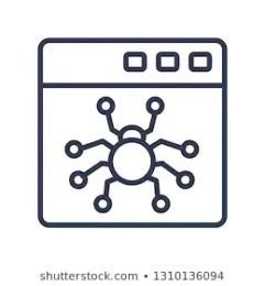graphic of a spider bot