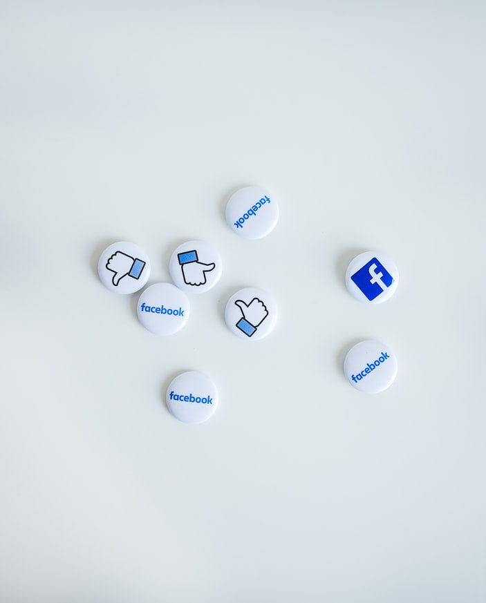 Facebook Buttons - Thumbs Up & Facebook Logo