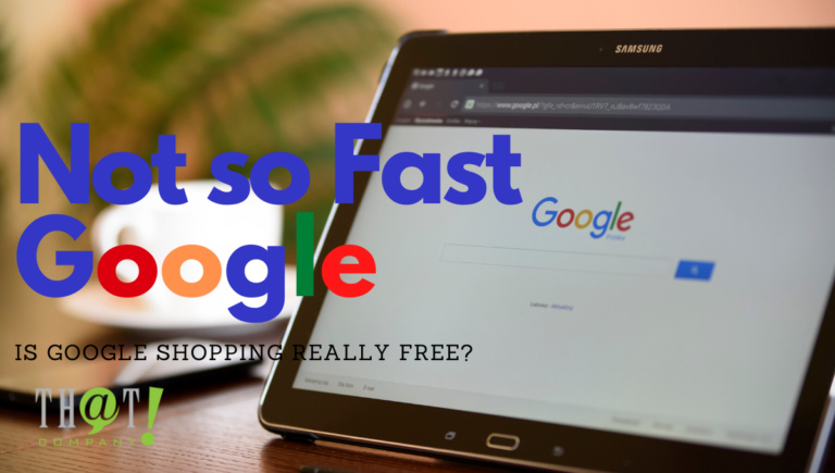 It's now Free to Sell on Google (Not really)