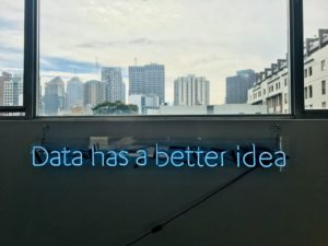 data has a better idea neon light