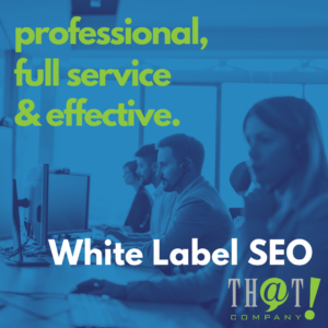 professional full service white label seo