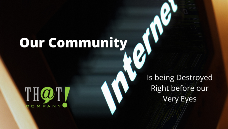 Our Community – The Internet