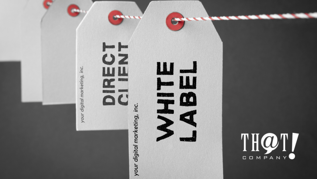 digital marketing in white label or direct