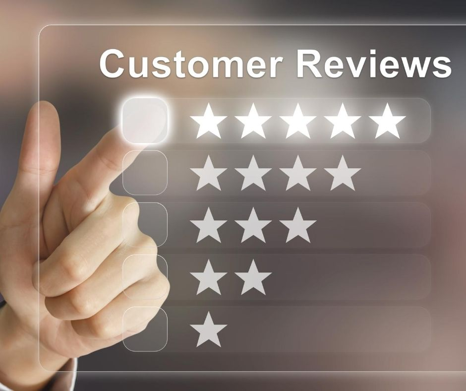 Customer Reviews on Google My Business