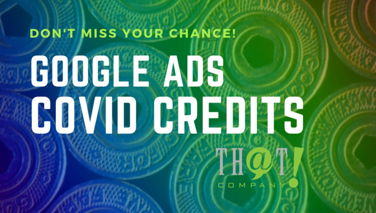 Google Ads COVID Credits Are Here