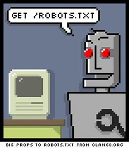 robot talking