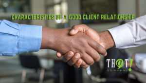 Characteristics a Good Client Relationship | Two Men Shaking Hands