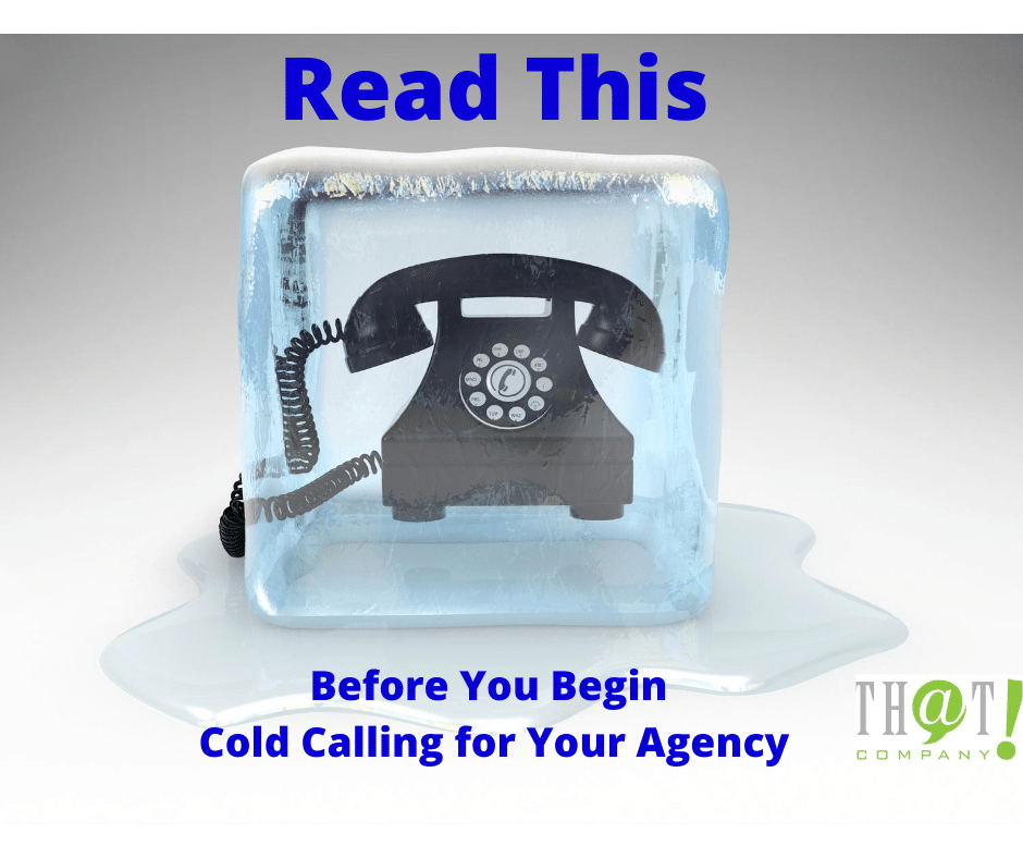 Are Cold Calls Good for Your Agency? | Phone Encased in Ice