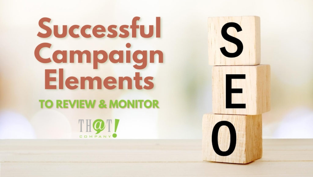Successful Campaign Elements