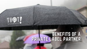 Private Labels as Partners   Person Under Umbrella