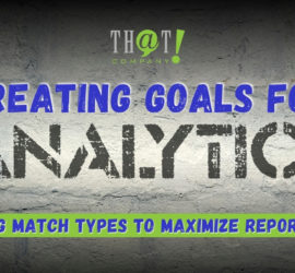 Goole Analytics Goals