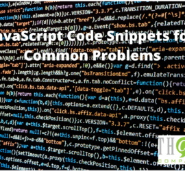 Javascript for Common Problems