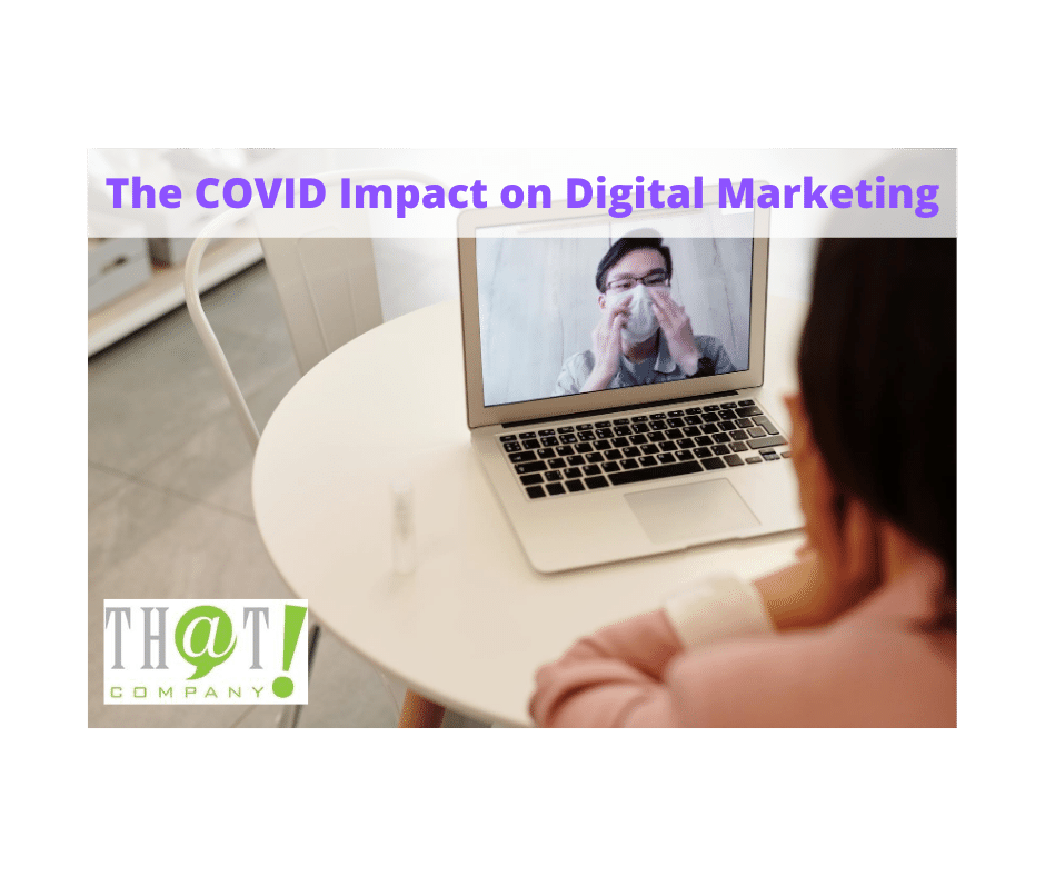 The COVID Impact on Digital Marketing   Couple in Digitial Conference