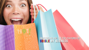 The Many Features of Google My Business | Woman with many Shopping Bags