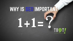 Why is SEO Important to Marketing Agencies | Person Doing Addition on Chalkboard