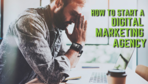 Starting a Digital Marketing Agency Isn't Easy | Man Frustrated at Computer