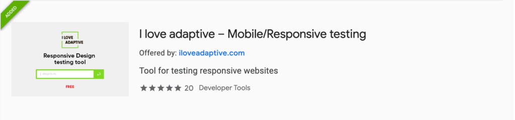 Web Dev Productivity | I Love Adaptive