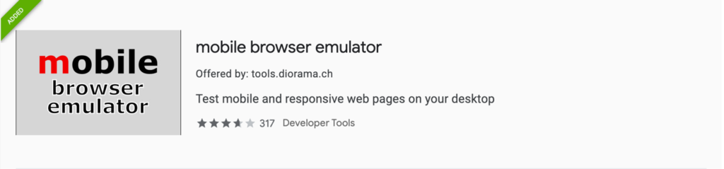 Web Dev Productivity | Mobile Browser Emulator