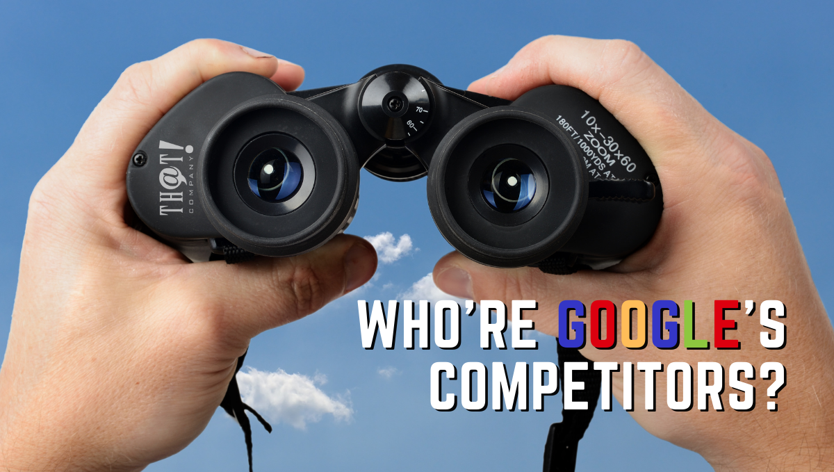 Who Are Google Search Engines Competitors | Man Searching With Binoculars