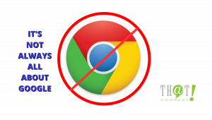 The Competitors to Google's Search Engine | Restrict Sign Over Google Logo