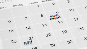 Take note of When Google Made Changes | Calendar with Unique Notes on Dates