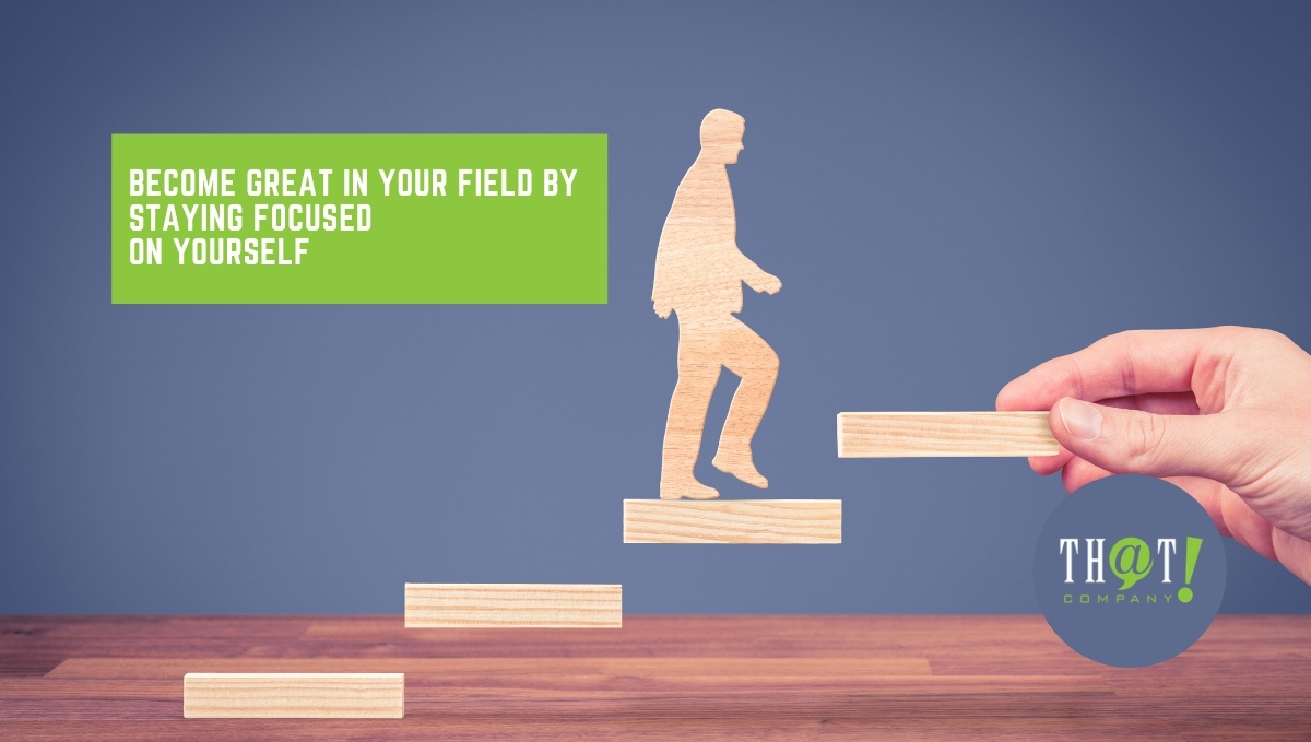 Expert Advice on How to Become Great in Your Field | Wooden Man Climbing Steps Hand Sets Up For Him