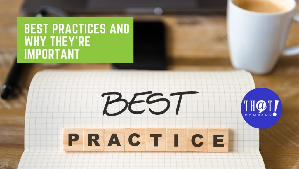 Expert Advice by Internet Marketers on Best Practices and Why They're Important | Best Practice Written With Marker and Scrabble Tiles