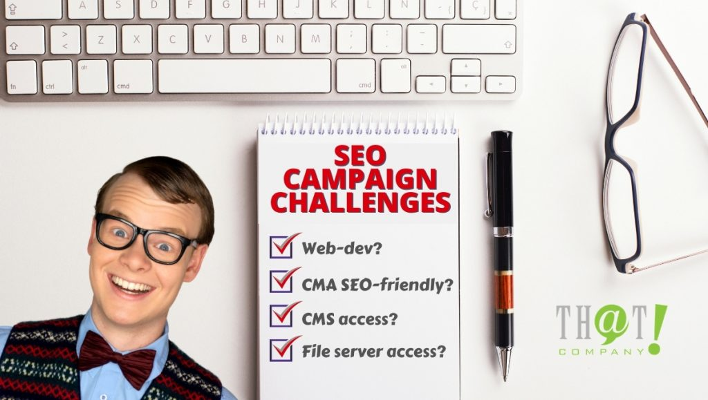 SEO Campaign challenges
