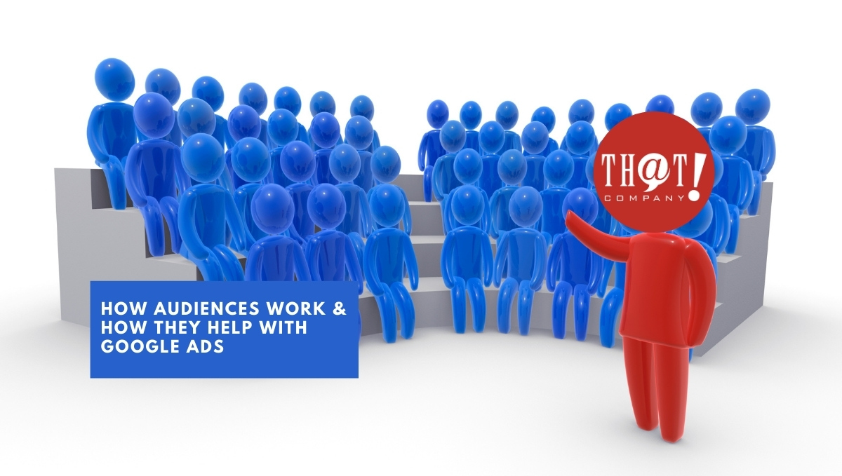 How Google Audiences Work & How They Help | Cartoon Man Speaking To Crowd