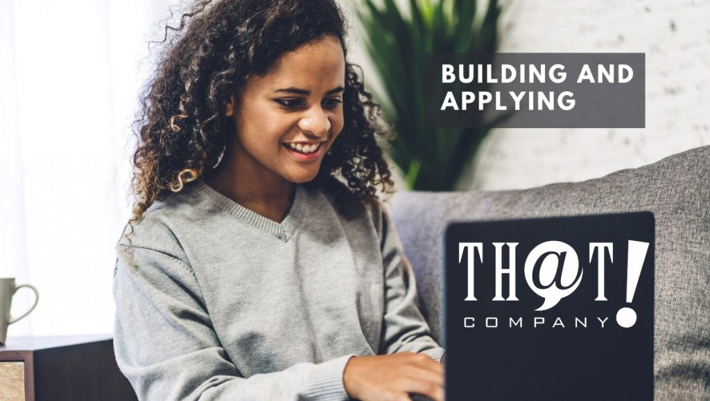 Building and Applying Your Google Audience | Woman Typing on a Laptop