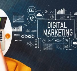 Expert Advice on Selling Digital Marketing   Computer with graphs and charts