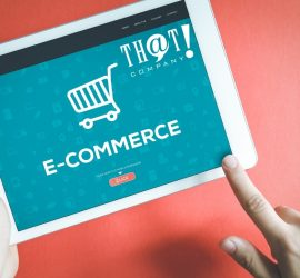 Ecommerce And How it Killed Brick and Mortar | Person Holding Tablet With Ecommerce On the Tablet