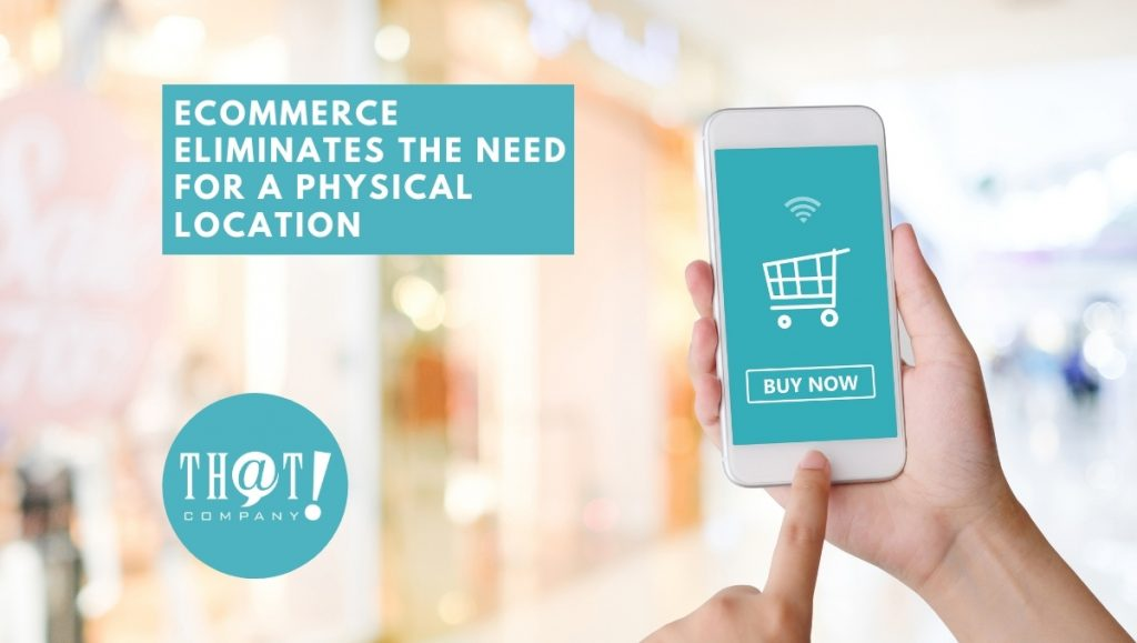 eCommerce Eliminating the Need for A Physical Location | Person Making Order on Phone