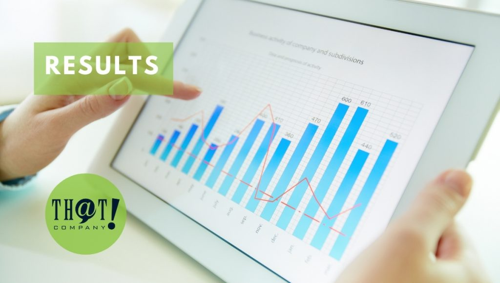 The Results of the Search Engine Optimization Success   Person Holding Tablet With Graph