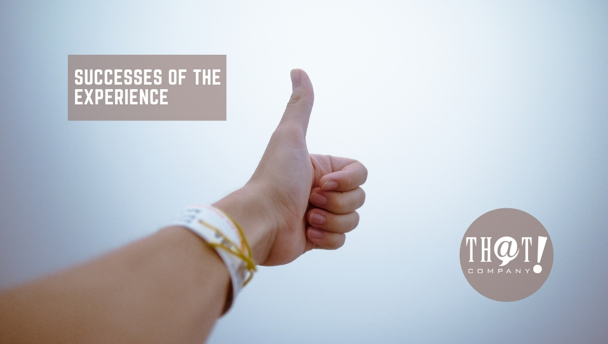 Successes Of The Experiences | A Thumbs Up For The Sky