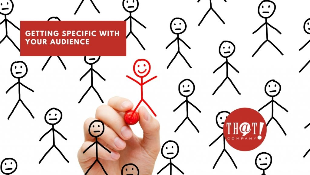 Getting Specific With Your Google Audiences | Red Stick Figure In Crowd of Black Stick Figure