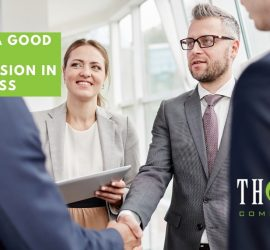 Making A Good First Impression In Business | Business People Meeting And Getting Introduced