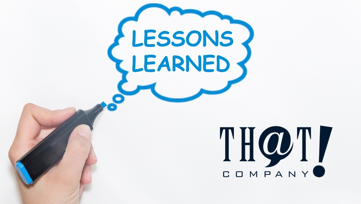 Lessons Learned From Google Stadia   Lesson Learn Written On A Whiteboard