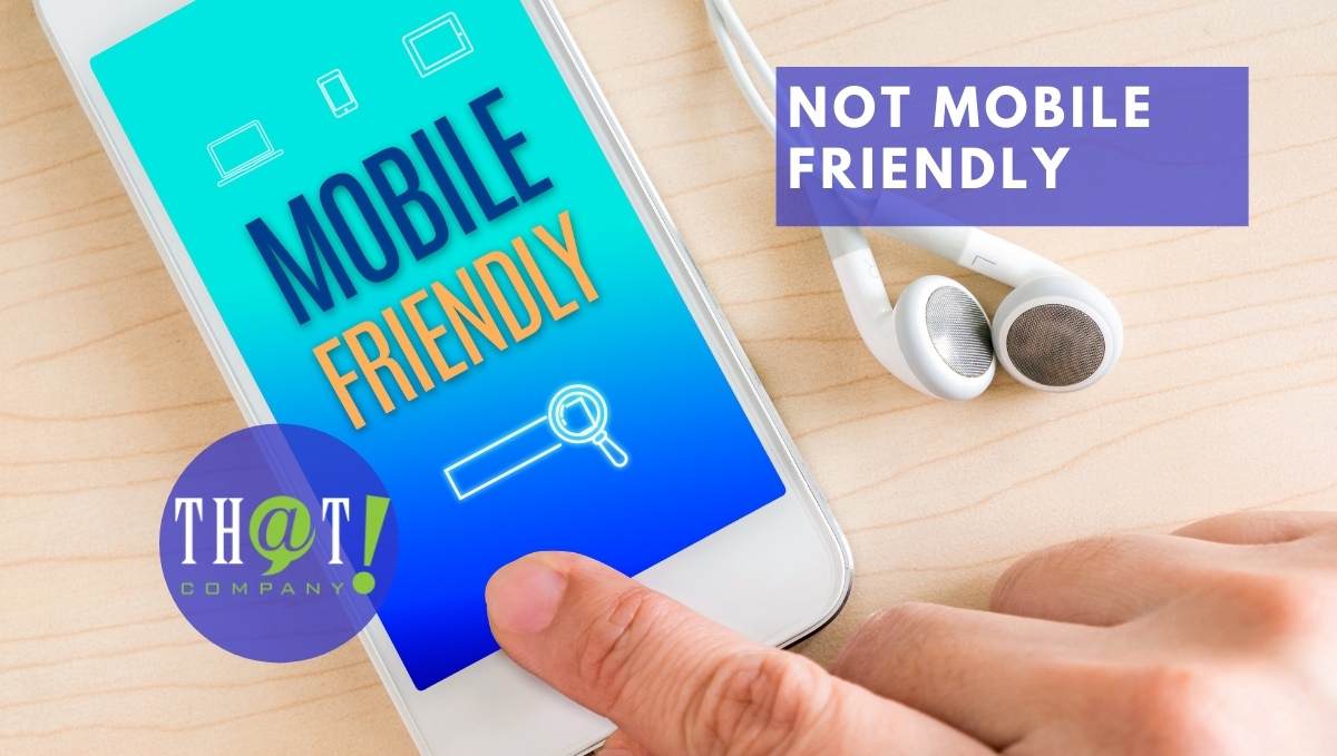 Web Development Issues of Not Mobile Friendly | Phone Saying Mobile Friendly