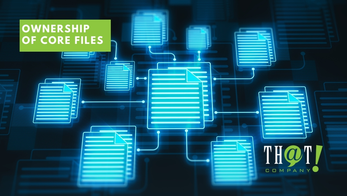 Not Having Ownership Of Core Files | Files Being Connected