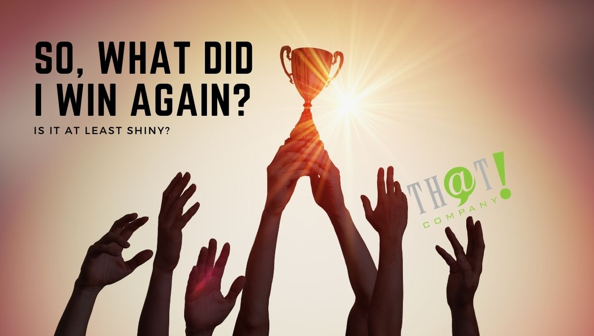 SEO Rankings | Hands Reaching For a Trophy