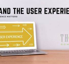 SEO and the User Experience | Computer Screen Pointing at THAT! Company
