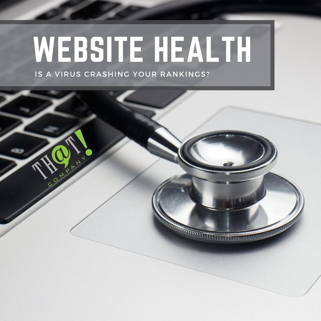 Site Health During a SEO Ranking Crash | Stethoscope On Laptop