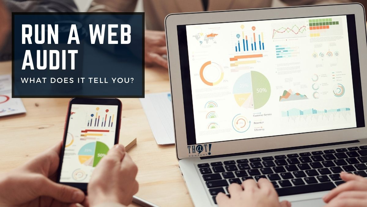 Begin a Web Audit for a SEO Ranking Crash | Computer and Phone With Analytics