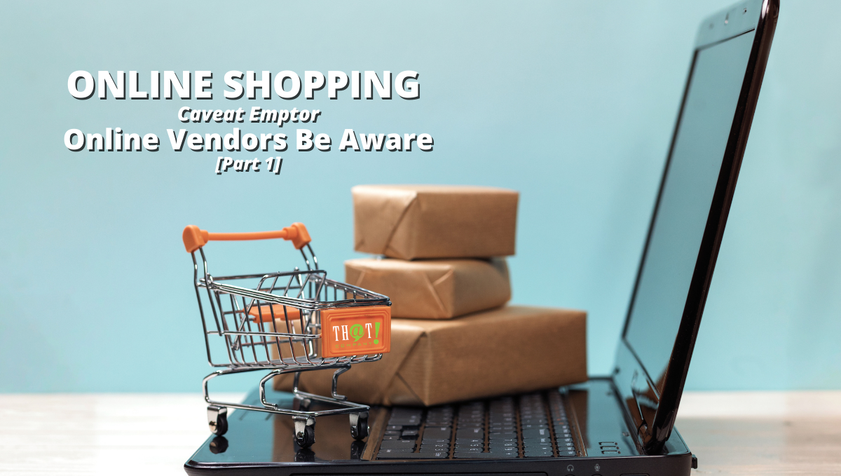 Online Shopping Experiences | Miniature Cart and Boxes on a Laptop