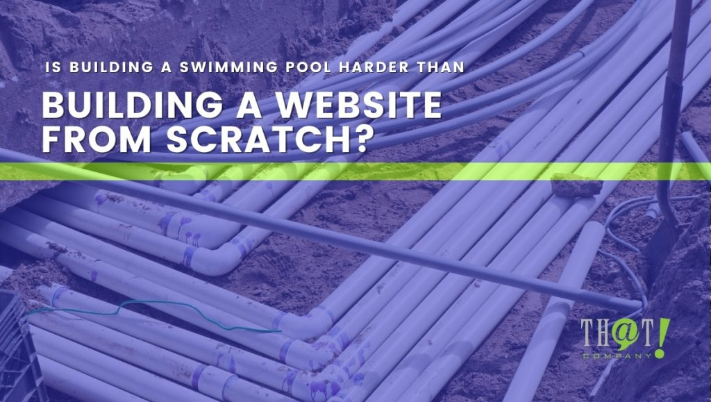 Pool and website building takes planning